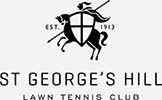 St Georges Hill Tennis B&W